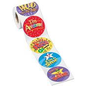 Self Esteem Boosters 5-On-A-Roll Stickers