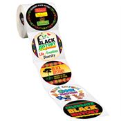 Black History Month Inspirational 5-On-A-Roll Stickers