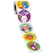 Young Student Assortment II Stickers-On-A-Roll