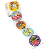 Bullying Stops Here! Safety Stickers-On-A-Roll