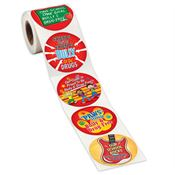 Drug & Bully Free Assortment Stickers-On-A-Roll