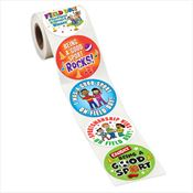 Field Day: Good Sportsmanship 5-On-A-Roll Sticker Roll