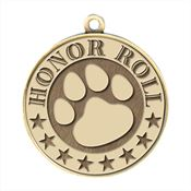 Honor Roll/Paw Gold Academic Medallions