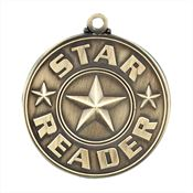 Star Reader Gold Academic Medallion