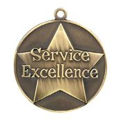 Service Excellence Gold Academic Medallions