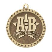 A-B Honor Roll Gold Academic Medallion