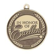 In Honor Of Excellence Gold Academic Medallion