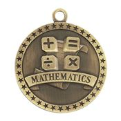 Mathematics Gold Academic Medallion