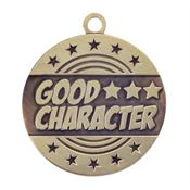 Good Character Gold Academic Medallion