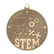 STEM Gold Academic Medallion