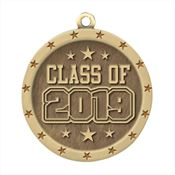 Class Of 2019 Gold Academic Medallion