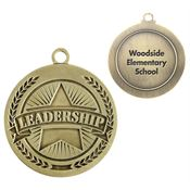 Leadership Gold Academic Medallion - Personalization Available