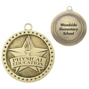 Physical Education Academic Medallion - Personalization Available