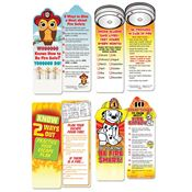 Fire Safety Bookmark Assortment Pack
