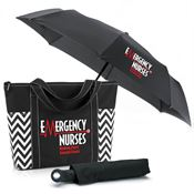 Emergency Nurses: Making Every Second Count Chevron Tote & Umbrella Gift Combo