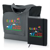 Children: The Heart Of Our Future Vista Tote & Full-Color 5