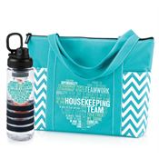 Housekeeping Team Water Bottle & Tote Gift Combo