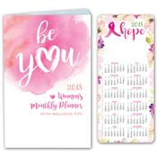2018 Be You Women's Monthly Planner & E-Z 2 Stick Glancer Stay 'N' Go Combo