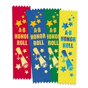 A-B Honor Roll Ribbon 100-Piece Assortment Pack