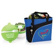 Volunteers Harvard Lunch/Cooler Bag & Round Food Container Gift Set