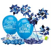 Child Abuse Prevention 380-Piece Awareness Pack