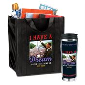 Martin Luther King Jr. Commemorative Tote & Insulated Tumbler Value Pack