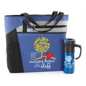 Behind Every Great Nursing Home Is A Great Staff Mercer Tote & Montauk Travel Mug Combo