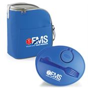 EMS: Your Life, Our Mission Eastport Lunch/Cooler Bag & On-The-Go Food Container Combo