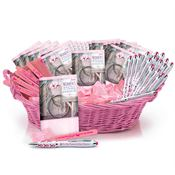Budget Breast Cancer Awareness Assortment With Display Basket