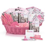 Deluxe Breast Cancer Awareness Assortment with Display Basket