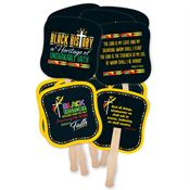 Black History Hand Fan 50-Piece Assortment Pack