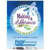Making A Difference Today, Tomorrow & Always: It's What I Do Academic Planner & Pen Set