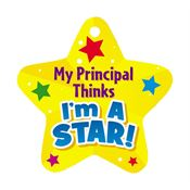 My Principal Thinks I'm A Star! Award Tag With 24