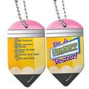 Be A SMART Tester Pencil-Shaped Tag With 4