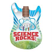 Science Rocks! Laminated Tag With 4