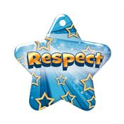 Respect Laminated Award Tag With 4