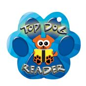 Top Dog Reader Laminated Award Tag With 4
