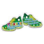 Field Day: A Good Sport Is Always A Winner Sneaker-Shaped Tag With 4