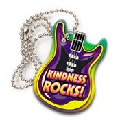 "Kindness Rocks! Award Tag With 4"" Chain"