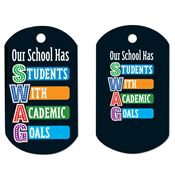 Our School Has SWAG Laminated Award Tag With 4