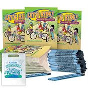 Deluxe 500-Piece Bicycle Safety Kit - Personalization Available