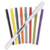 BIC® Round Stic® Black Ink Pen - Personalization Available