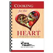 Cooking For The Heart Cookbook - Personalization Available