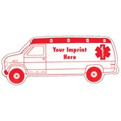 Ambulance-Shaped Magnet - Personalization Available