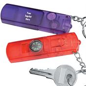 Whistle Key Light Compass - Personalization Available