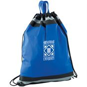Lightweight Water Resistant Reflective Sports Pack With Carrying Handles - Personalization Available