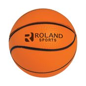 Basketball Stress Reliever - Orange - Personalization Available