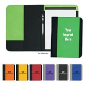 Non Woven Large Portfolio With Water Resistant Polypropylene Cover - Personalization Available
