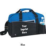 Spacious Duffel Bag With Full Front Slip Pocket - Personalization Available