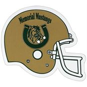 Auto Magnet Football Helmet - Personalization Available